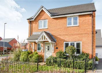 Thumbnail 4 bed detached house for sale in Higher Croft Drive, Crewe