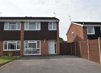 Thumbnail 3 bed semi-detached house for sale in Hawthorne Walk, Droitwich