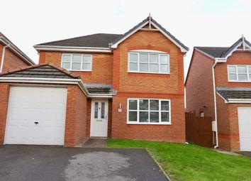 Thumbnail 4 bed detached house for sale in Dan Y Parc, Bradley Gardens, Merthyr Tydfil