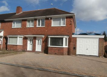 Thumbnail 3 bedroom semi-detached house to rent in Hathersage Road, Great Barr, Birmingham