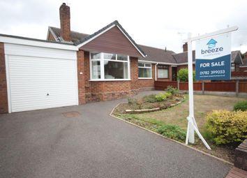 Thumbnail 2 bed semi-detached bungalow for sale in Chestnut Crescent, Blythe Bridge, Stoke-On-Trent