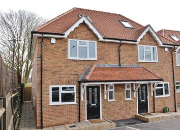 Thumbnail 3 bed semi-detached house for sale in Bath Road, Padworth, Reading