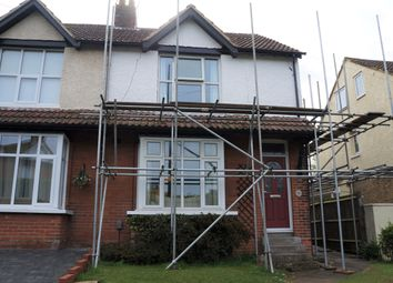 Thumbnail 2 bed semi-detached house to rent in Burton Road, Kennington, Ashford, Kent