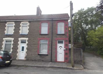 Thumbnail 3 bed end terrace house for sale in Llanover Road, Pontypridd