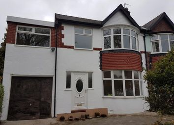 Thumbnail 4 bed semi-detached house for sale in Crumpsall Lane, Manchester, Greater Manchester