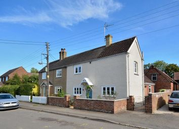 Thumbnail 2 bed semi-detached house for sale in North End Road, Steeple Claydon, Buckingham