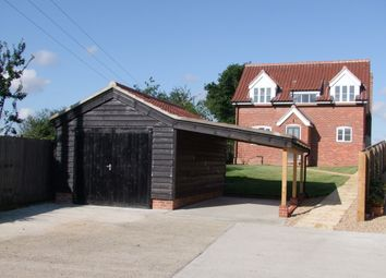 Thumbnail 4 bedroom detached house for sale in The Street, Snape, Saxmundham