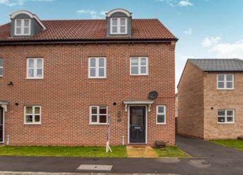 Thumbnail 4 bedroom semi-detached house to rent in Pearl Gardens, Warsop, Mansfield