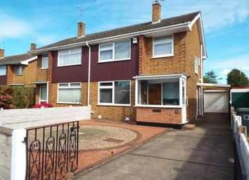 Thumbnail 3 bed semi-detached house for sale in Haddon Crescent, Chilwell, Beeston, Nottingham