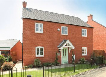 "Thumbnail 4 bed detached house for sale in ""The Harewood "" at Ashton Road, Roade, Northampton"