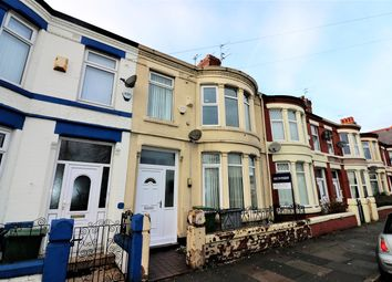 Thumbnail 4 bed terraced house for sale in Mainwaring Road, Wallasey