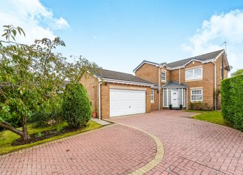 Thumbnail 4 bed detached house for sale in Greenwood Drive, Johnstone