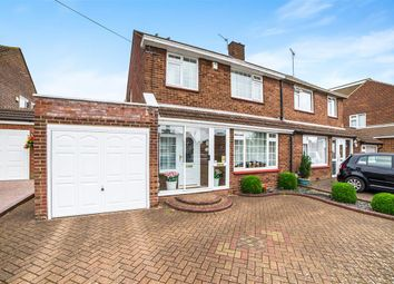 Thumbnail 3 bed semi-detached house for sale in Hadrian Avenue, Dunstable