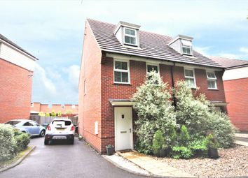 Thumbnail 3 bed town house for sale in Castilian Way, Whiteley, Fareham