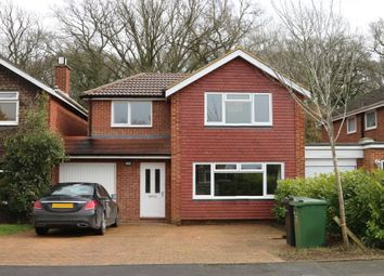 Thumbnail 4 bed link-detached house to rent in Maple Road, Ripley, Woking