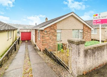 Thumbnail 3 bed detached bungalow for sale in Bearsdown Close, Plymouth
