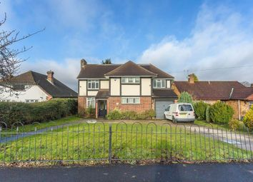 Thumbnail 4 bed detached house for sale in Ruden Way, Ewell, Epsom