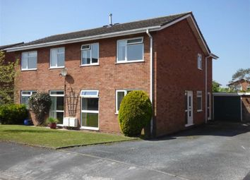 Thumbnail 3 bed semi-detached house for sale in Elmdon Close, Penkridge, Stafford
