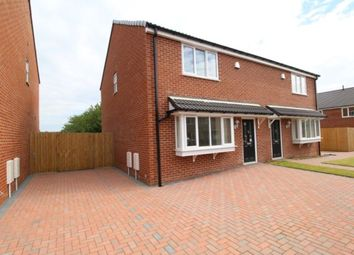 Thumbnail 3 bed semi-detached house to rent in Ivanhoe Court Ulrica Drive, Thurcroft, Rotherham