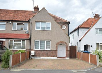 Thumbnail 3 bed end terrace house to rent in Hartfield Road, Chessington, Surrey.