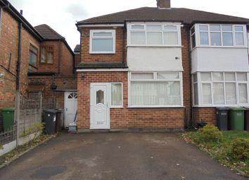 Thumbnail 4 bed semi-detached house to rent in Harvard Road, Sheldon, Birmingham