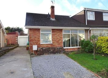Thumbnail 2 bed semi-detached bungalow for sale in Glynstell Road, Nottage, Porthcawl