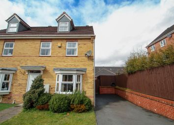 Thumbnail 3 bed semi-detached house for sale in Hayeswood Grove, Norton Heights, Stoke-On-Trent