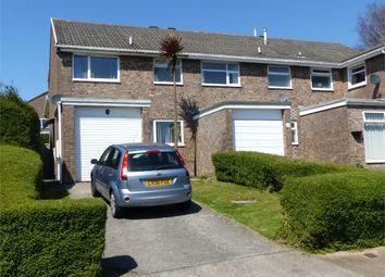 Thumbnail 3 bedroom semi-detached house for sale in Cae Bracla, Brackla, Bridgend, Mid Glamorgan