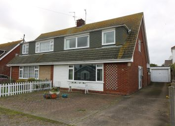 Thumbnail 3 bed semi-detached house for sale in Throwley Drive, Herne Bay