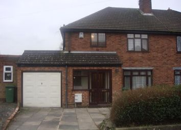 Thumbnail 3 bedroom semi-detached house to rent in Fatherless Barn Crescent, Halesowen, West Midlands