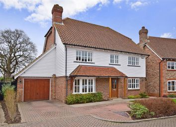 Thumbnail 4 bed detached house for sale in Brisley Court, Kingsnorth, Ashford, Kent