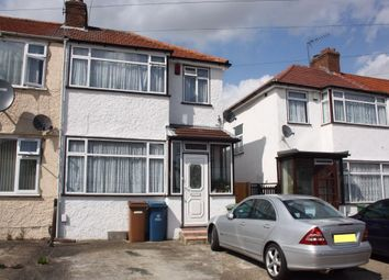 Thumbnail 3 bedroom end terrace house to rent in Reynolds Drive, Edgware, Middlesex, UK