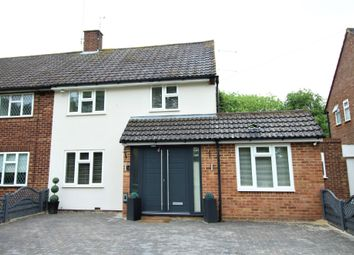 Thumbnail 4 bed semi-detached house for sale in Meadow Way, Bedmond, Abbots Langley