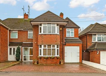 Thumbnail 4 bed semi-detached house for sale in Kingsdown Avenue, Luton