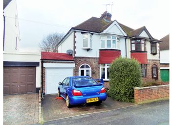 Thumbnail 4 bed semi-detached house for sale in Priory Road, Gillingham