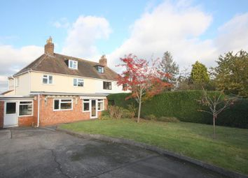Thumbnail 4 bed semi-detached house for sale in The Corner House, Welland Road, Malvern, Worcestershire
