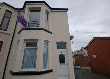 Thumbnail 2 bedroom end terrace house for sale in Lodore Road, Blackpool