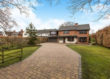 Thumbnail 5 bed detached house for sale in Leek Road, Congleton