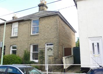 Thumbnail 2 bed semi-detached house to rent in Victoria Road, Stowmarket