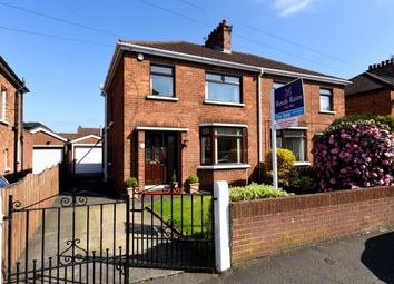 Thumbnail 3 bed semi-detached house for sale in Edenvale Drive, Belmont, Belfast