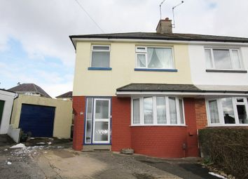 Thumbnail 4 bed semi-detached house for sale in Netley Road, Newton Abbot