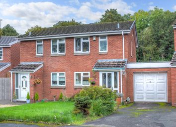 Thumbnail 2 bed semi-detached house for sale in Abbotswood Close, Winyates Green, Redditch
