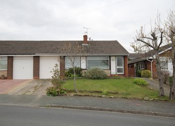 Thumbnail 3 bed semi-detached bungalow for sale in Norfolk Road, Wrexham
