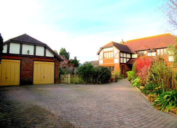 Thumbnail 4 bed detached house for sale in Russell Close, Lee-On-The-Solent