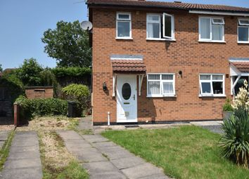 Thumbnail 2 bed semi-detached house to rent in Mablowe Field, Wigston