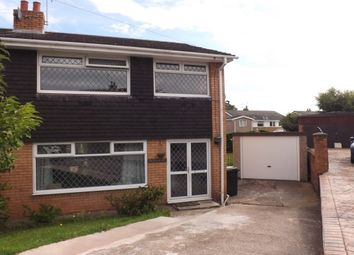 Thumbnail 3 bed semi-detached house to rent in Springfield Close, Flint
