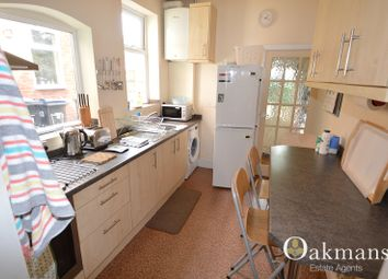 Thumbnail 3 bed property to rent in Coronation Road, Selly Oak, Birmingham, West Midlands.