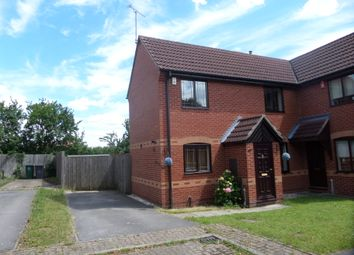 Thumbnail 2 bed semi-detached house to rent in Huntingdon Court, Melbourne, Derby