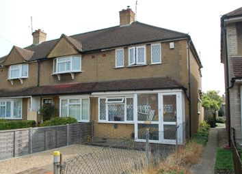 Thumbnail 2 bed end terrace house for sale in Swan Road, Feltham