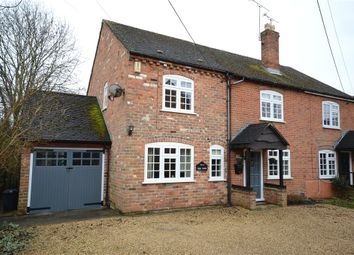 Thumbnail 4 bed semi-detached house for sale in Budges Cottages, Keephatch Road, Wokingham